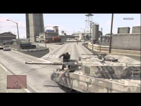 Gta Rhino Army Tank Tutorial How To Get Rhino Tank For Free