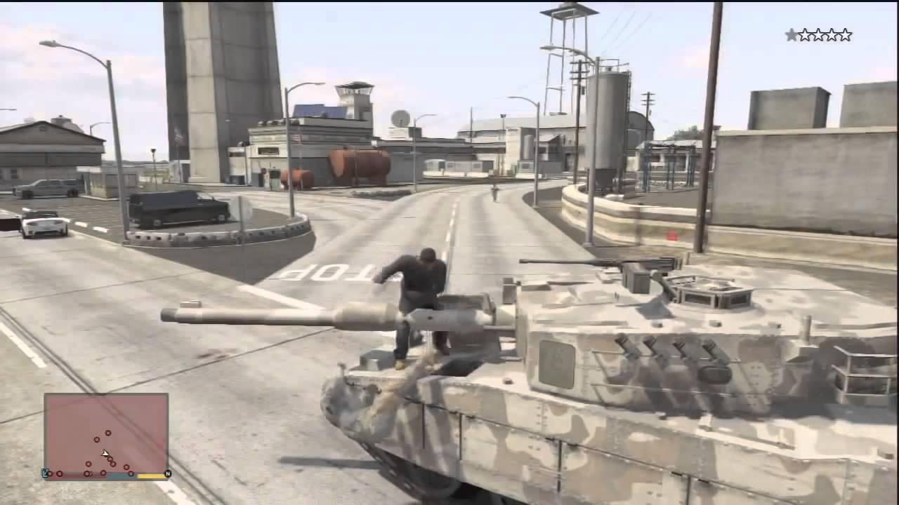 gta 5 cheats tank