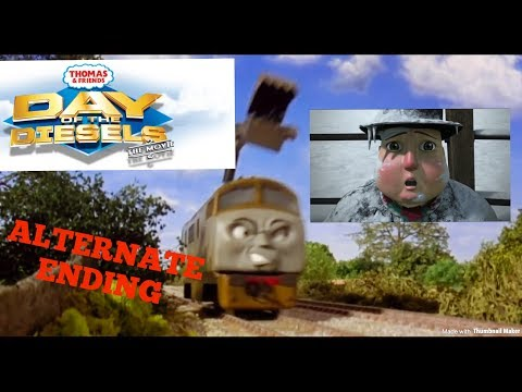 'Day of the Diesels' Alternate Ending