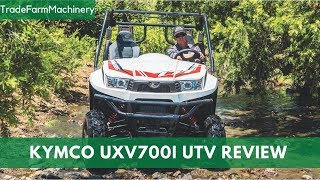 New Kymco UXV700i UTV test review