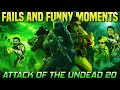 - ATTACK OF THE UNDEAD 20 FUNNY MOMENTS! codm attack of the undead 20 exe! codm aotu fails & funny