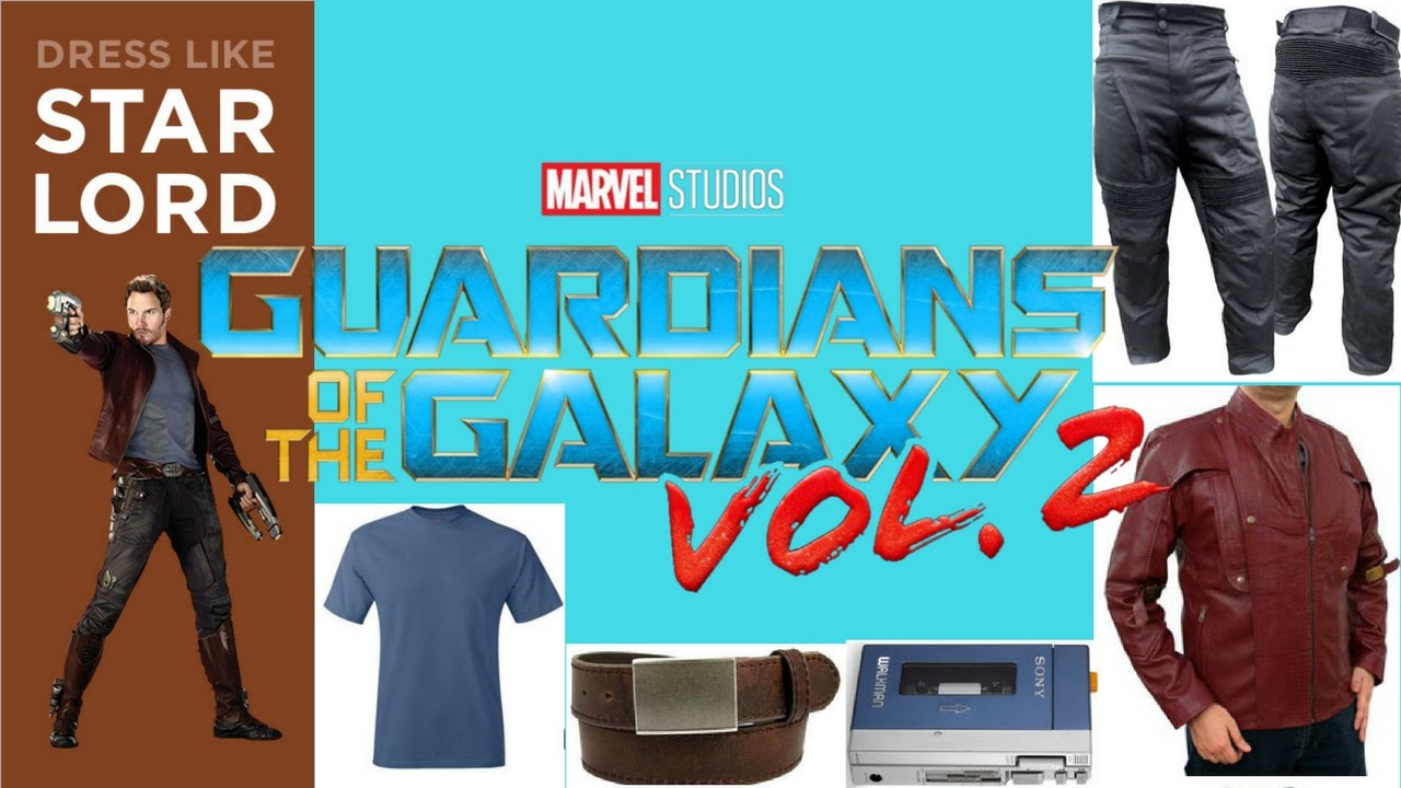cb6a0f01a Peter Quill/Star-Lord Costume DIY! - Guardians of the Galaxy vol. 2 ...