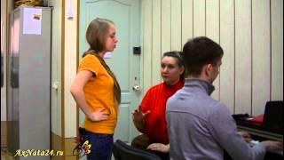 Урок вокала.Упражнение на включение диафрагмы.Дыхание ТОЛЬКО носом