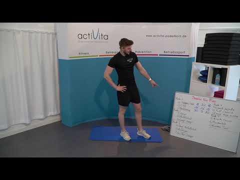 actiLiveStream #149 - Bauch Beine Po mit Daniel (Di. 04.05.21)