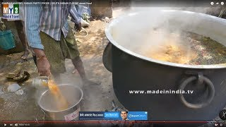 SAMBAR MAKING | INDIAN PARTY FOODS | SOUTH INDIAN CUISINE