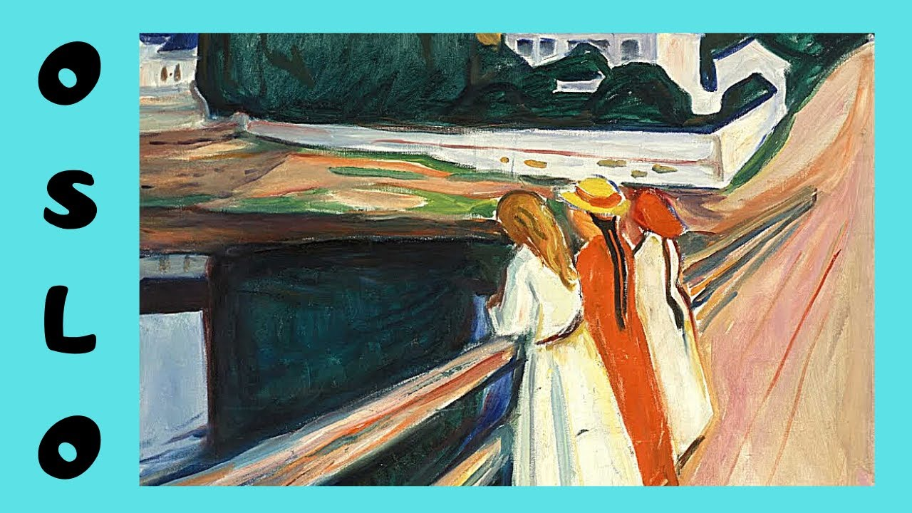 Girls Working Out Wallpaper The Girls On The Bridge Painting Edvard Munch National