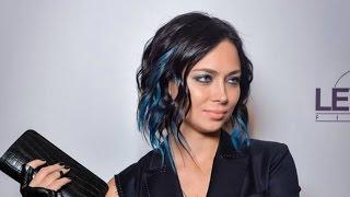 В интервью Настасья Самбурская: «Стиль это синий цвет»