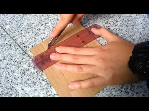 กรอบรูปจากกระดาษลัง