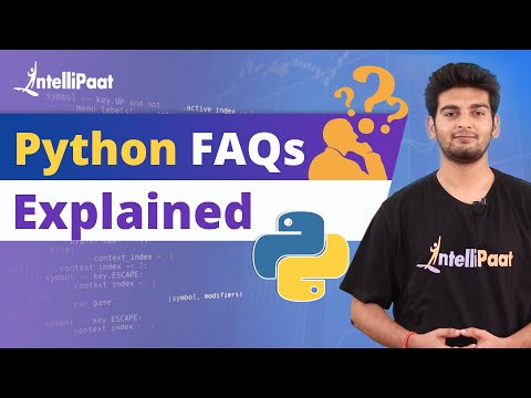Learn Python   Python Programming   Python Interview Questions   Intellipaat thumbnail