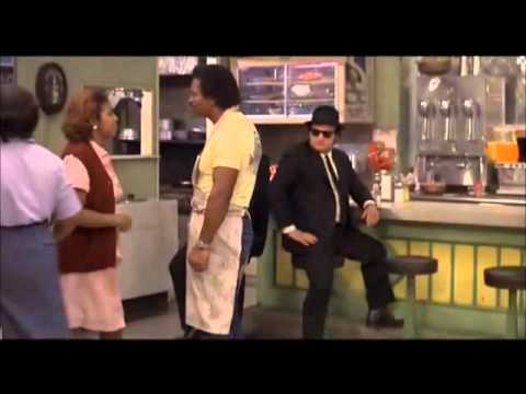 Aretha Franklin in 'The Blues Brothers'. (Full Scene)