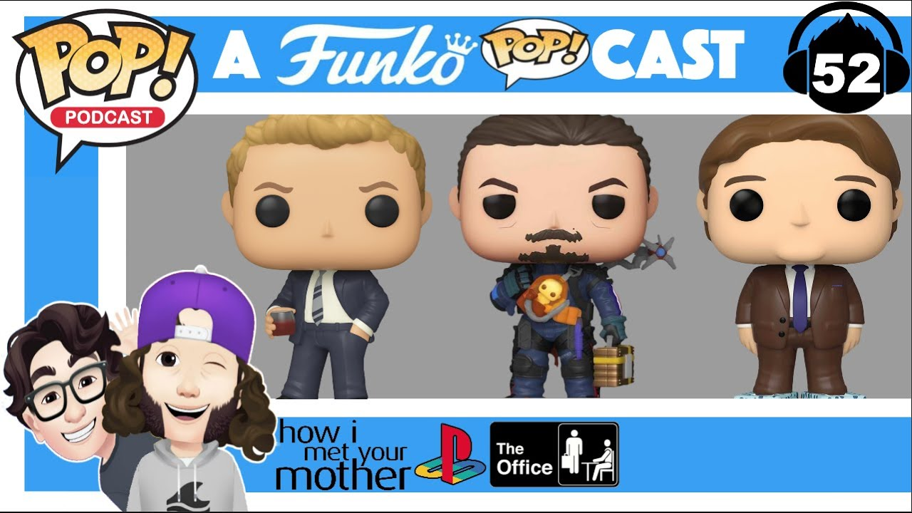 A Funko Pop Cast How I Met Your Mother Playstation The Office Etc Youtube