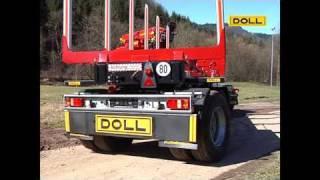 DOLL LOGO Sattelauflieger; DOLL LOGO semitrailer