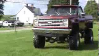 1981 Chevy Monster Truck!