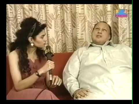 Nusrat Fateh Ali Khan-Interview (very Rare Video)