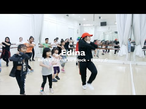 BECKY FROM THE BLOCK - BECKY G KIDS DANCE CHOREOGRAPHY DANCE VIDEO