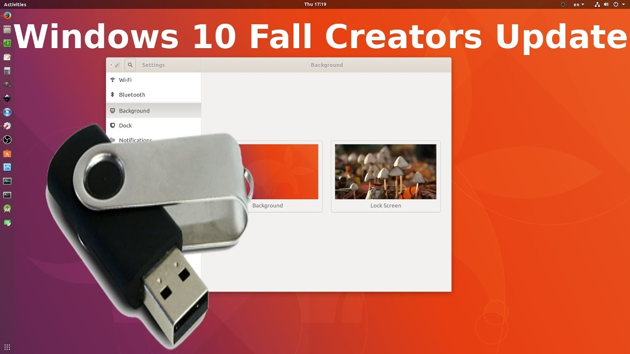 how to create windows 10 bootable usb from ubuntu