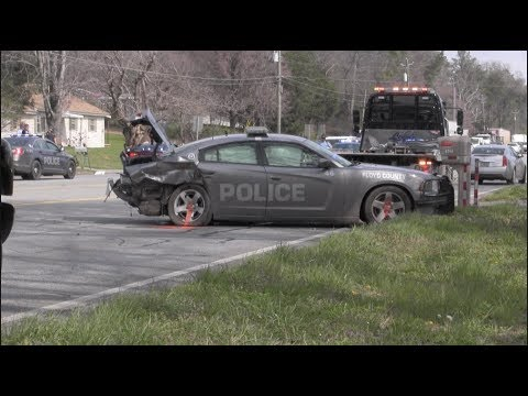 Floyd County Police Officer injured after high speed pursuit ends in crash near Gordon County line