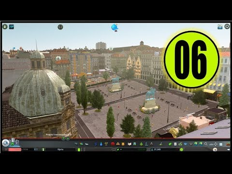 ELYRIA - HUGE REALISTIC EUROPEAN CITY [6]   What a Beautiful Area   Cities: Skylines Gameplay