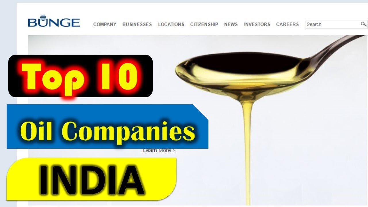 Top 10 Edible Oil Companies in India 2018 - YouTube