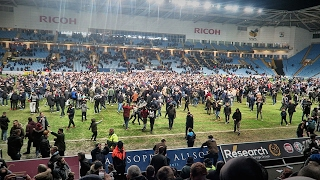 Coventry City 2-1 Wycombe Wanderers | Pitch Invasion | Checkatrade Trophy Semi Final