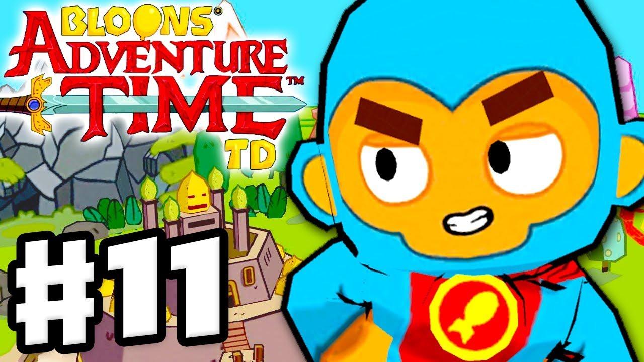 Bloons Adventure Time Td Gameplay Walkthrough Part 11