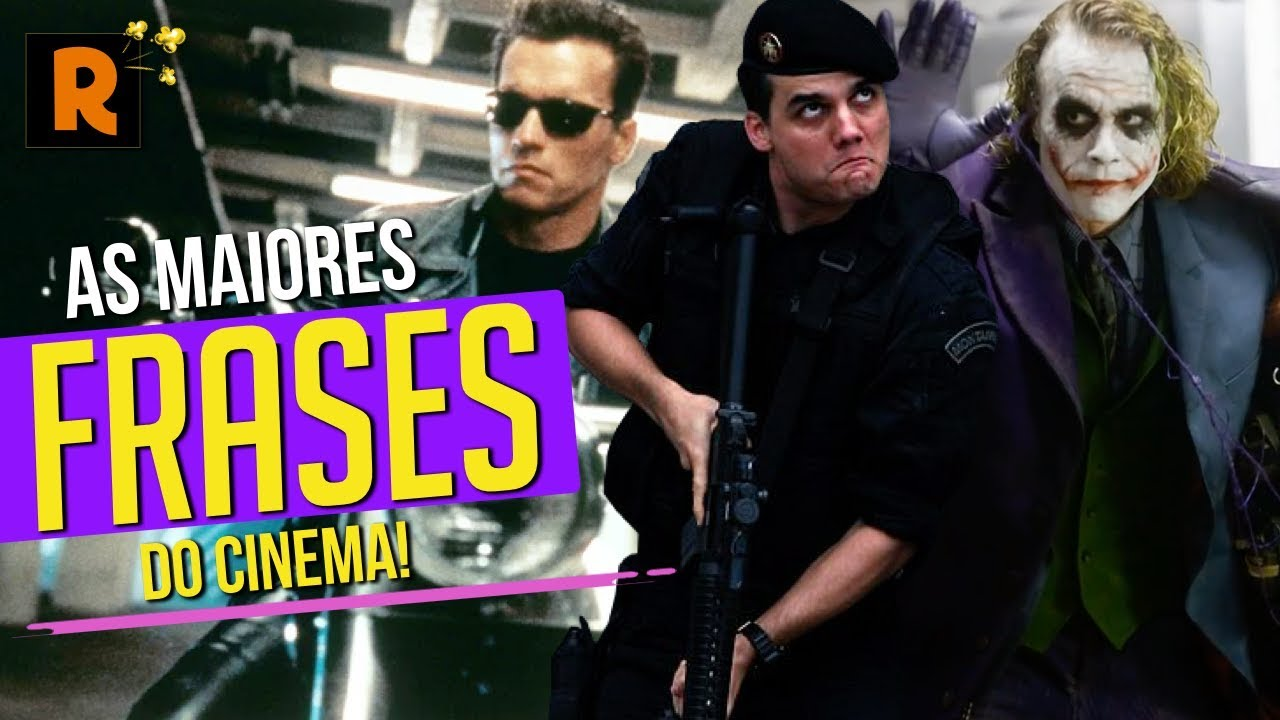 As 20 Frases Mais Memoráveis Do Cinema: AS FRASES MAIS MARCANTES DO CINEMA