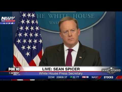 FNN: Sean Spicer White House Press Briefing - 2/23/17