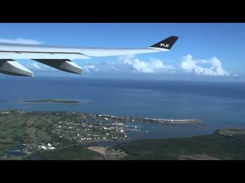 Fiji Airways Airbus A330, Take Off Nadi, Fiji