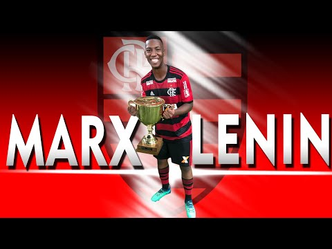 Marx Lenin, 19 year old midfielder from Flamengo, highlights.