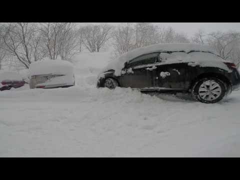 Nissan Murano Z51 зимой