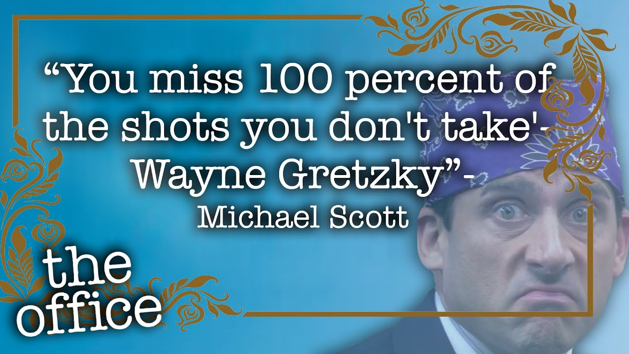 9a493e74d TOP 10 Michael Scott Quotes - The Office US - YouTube