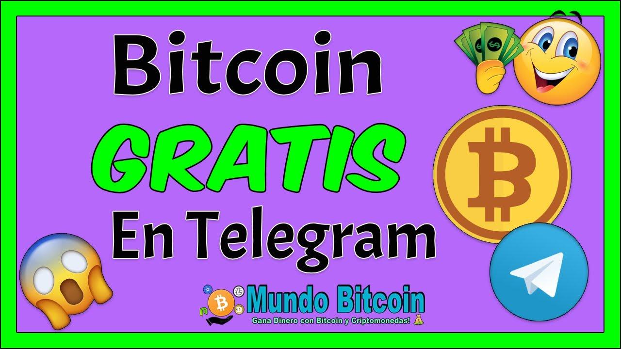 🌟 Como Ganar BITCOIN GRATIS en Telegram [Retiros al Instante] 👉 BTC Gratis 2020 🔥