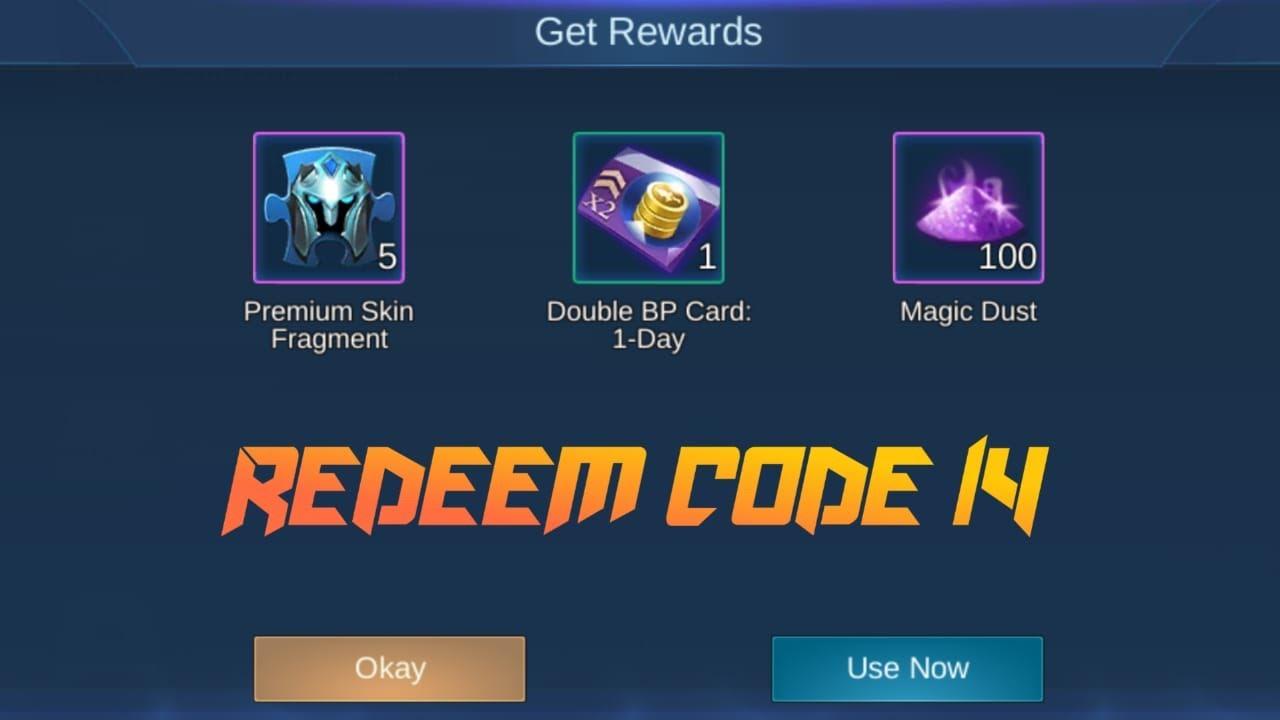 Redeem Code : 14 ll MLBB ll Rx Gaming Official - YouTube