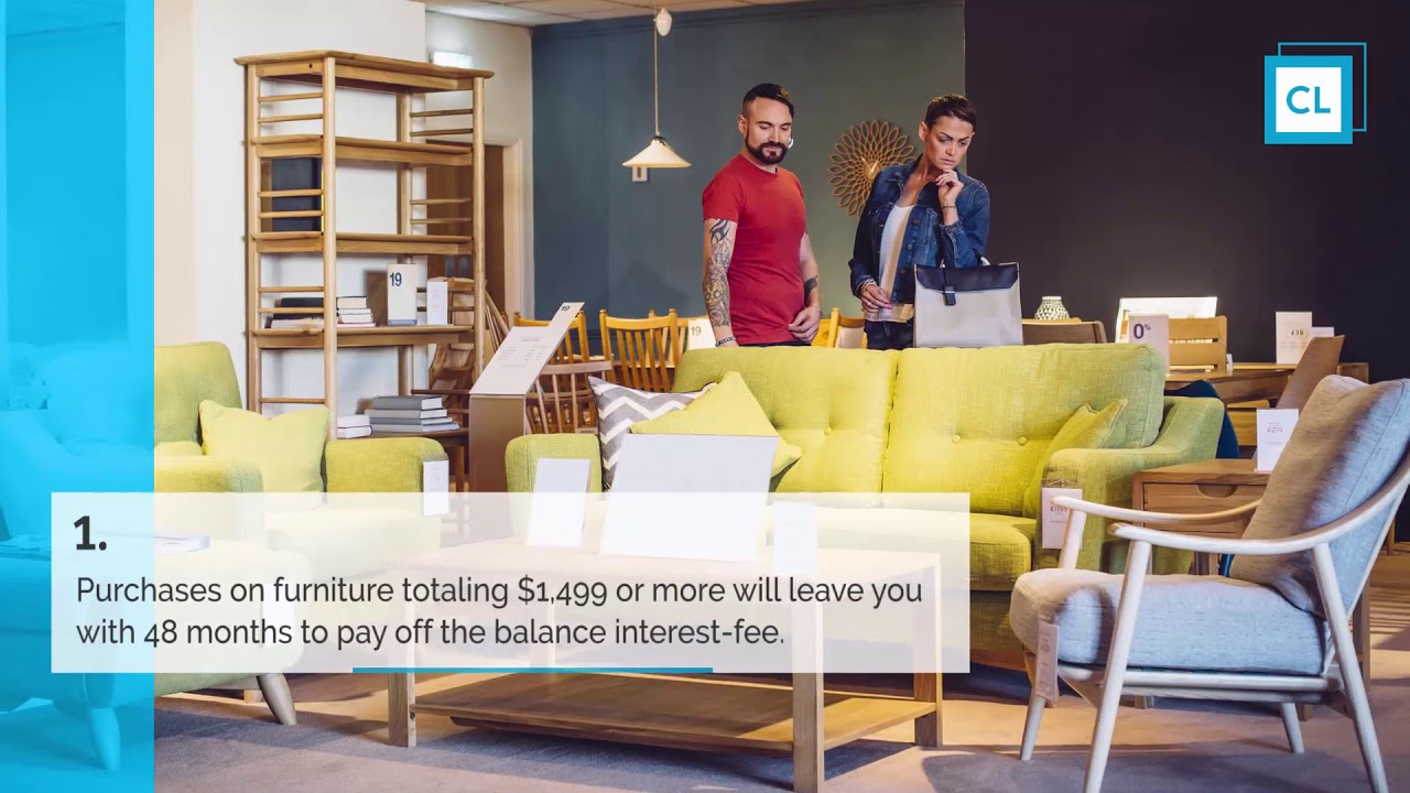 Ashley Home Furniture Credit Card Review Youtube
