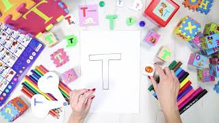 Буква Т [тэ]. Учим буквы русского алфавита. #Азбука с Тётушкой Азбуковной