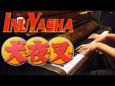 """InuYasha Opening 5 - """"One Day, One Dream"""" (Piano w/ Lyrics)"""