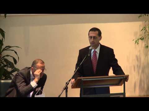 Előadás - Varga Mihály nemzetgazdasagi miniszter