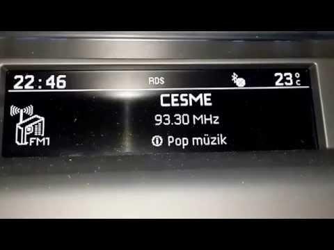 FM Radio Scan Çeşme/Türkiye 7.6 2014