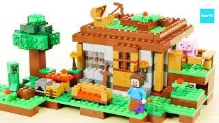 レゴ マインクラフト はじめての夜 21115 / LEGO Minecraft The First Night