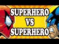 Top 10 Superhero v Superhero Battles