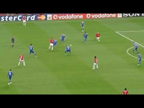Sir Alex Ferguson tactics - A tactical analysis of Manchester United - Chelsea 1:1 2008