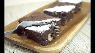 蠔油竟然还可以用来做甜点?! Chocolate Brownie with Oyster sauce