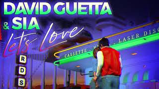 "David Guetta, Sia - Let's Love (12"" Extended Mix)"