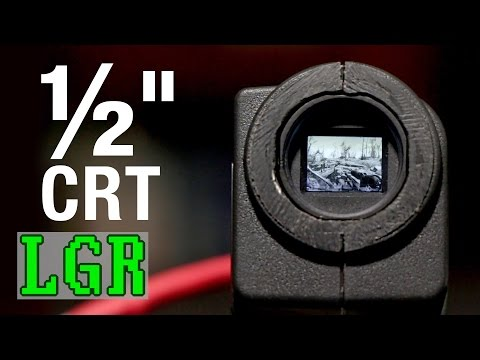 """Gaming On a ½"""" CRT TV [LGR Oddware]"""