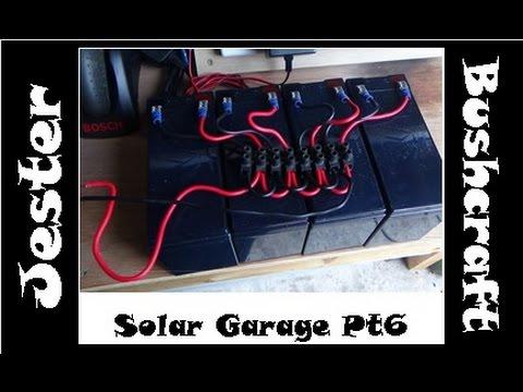 Simple DIY Home Solar Project – Off Grid Garage – Part 6