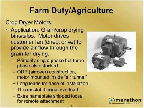 Definite Purpose Motors