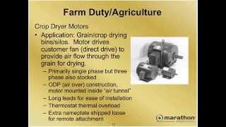 Definite Purpose Motors
