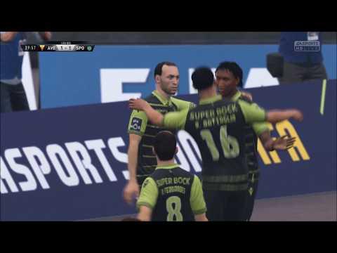 FIFA 18 Sporting Lisbon VS Desportivo das Aves