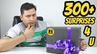 Surprise Box from Zakk Life | Bumper Giveaway- 10 Redmi Note 5 | 300+ Products