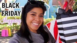 Come Shop With Me: Black Friday Shopping in Los Angeles! (Sephora, TopShop, TJMAXX, and Target)